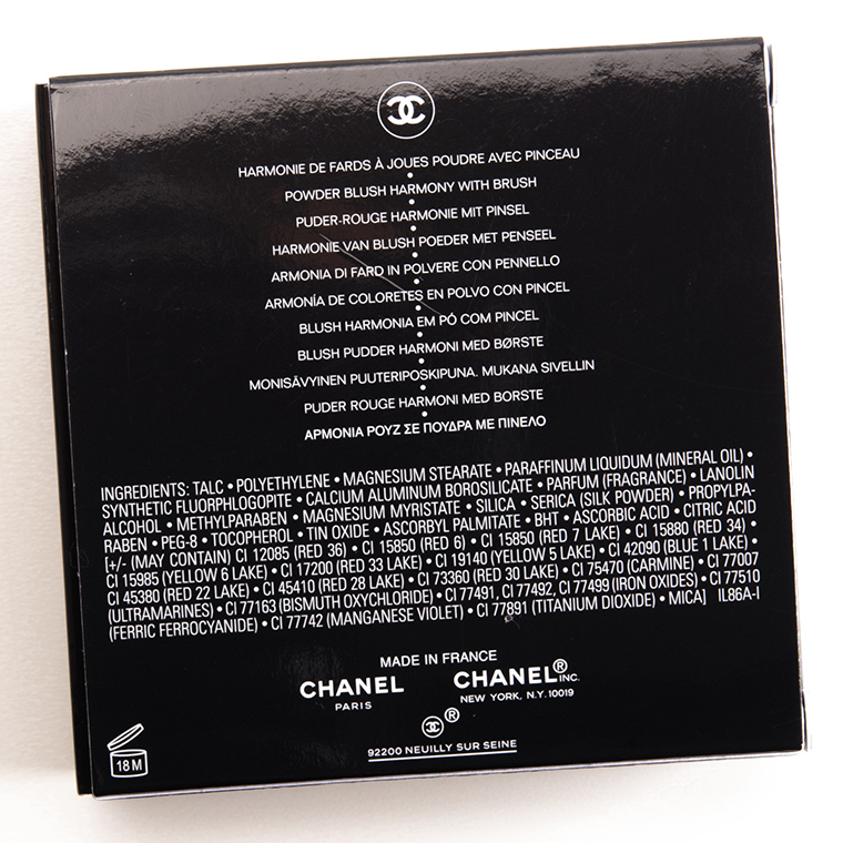 Chanel Sunkiss Ribbon Harmonie de Blush