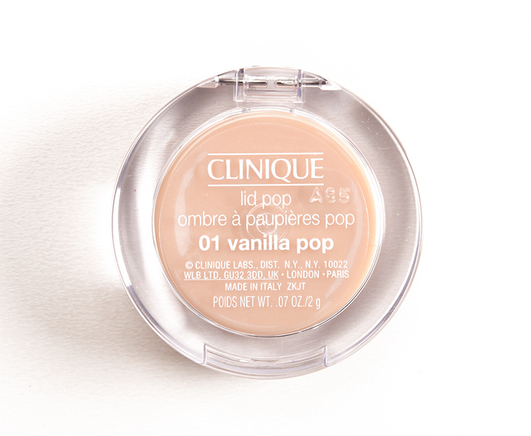 Clinique Vanilla Pop Lid Pop