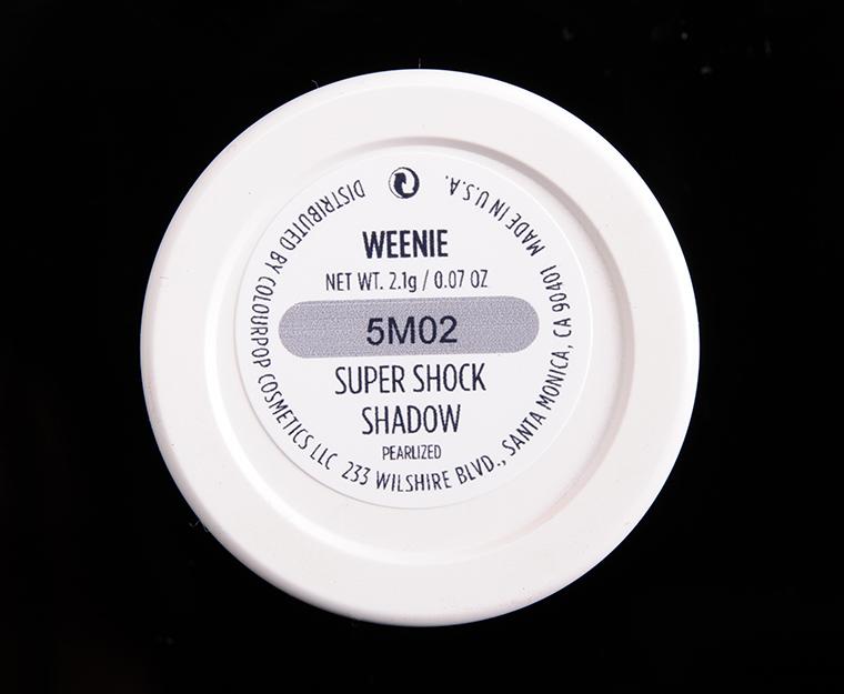 ColourPop Weenie Super Shock Shadow