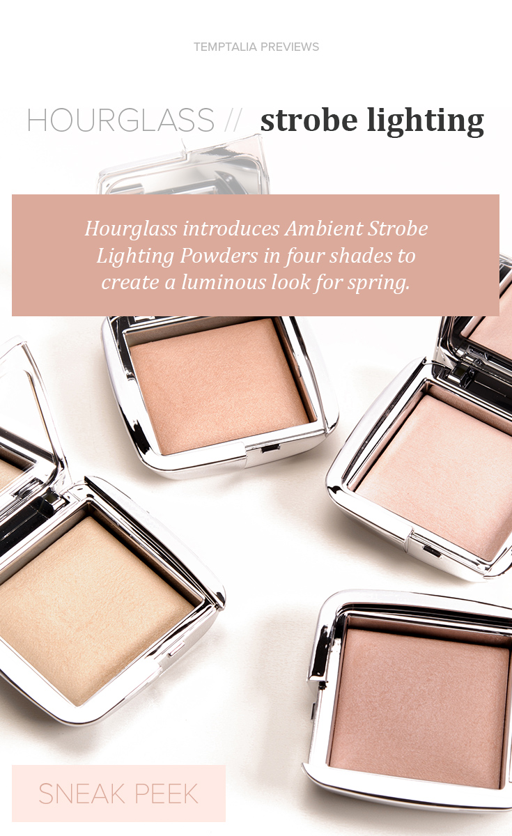 Hourglass Strobe Light Ambient Strobe Lighting Powder