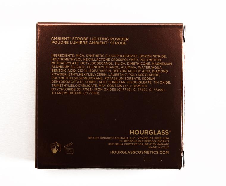 Hourglass Euphoric Strobe Light Ambient Strobe Lighting Powder