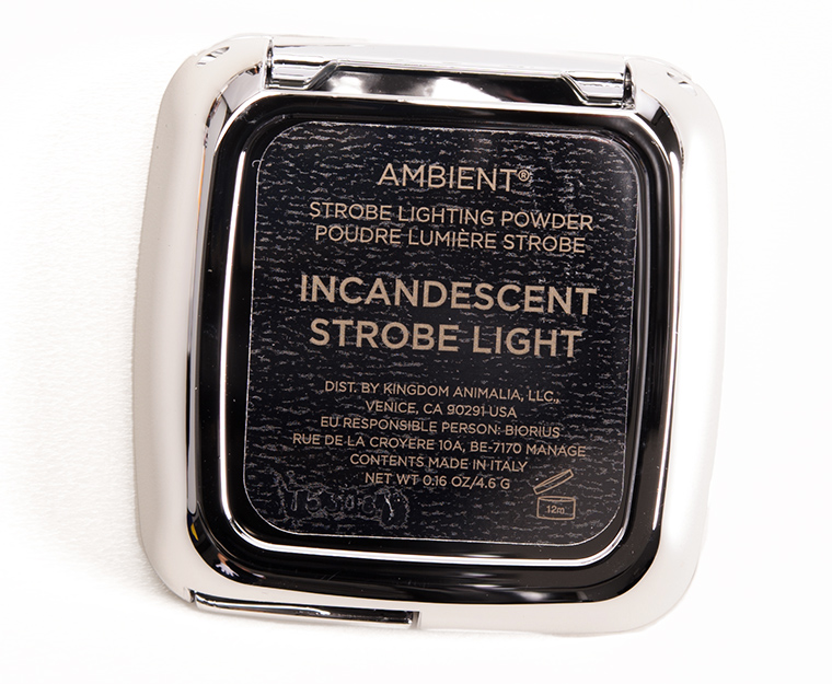 Hourglass Incandescent Strobe Light Ambient Strobe Lighting Powder