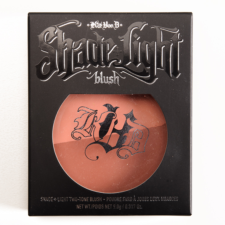 Kat Von D Hansel + Gretel Shade + Light Blush Duo