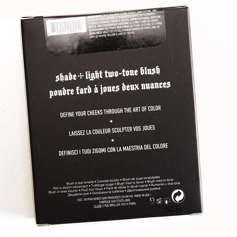 Kat Von D Morticia + Gomez Shade + Light Blush Duo