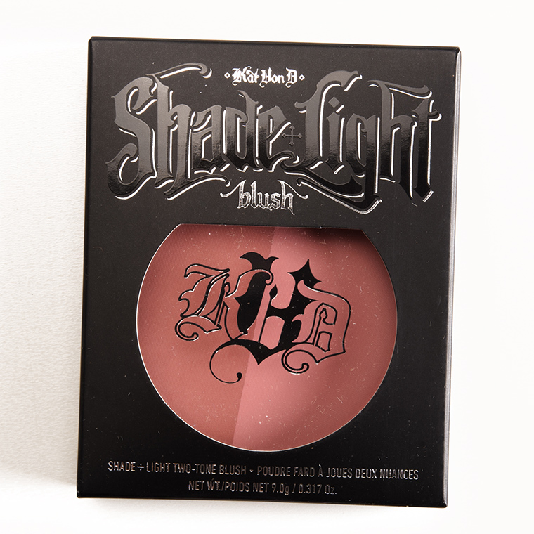 Kat Von D Piaf + Poe Shade + Light Blush Duo
