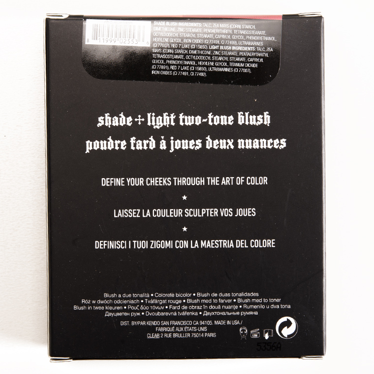 Kat Von D Piaf + Poe Shade + Light Blush Duo