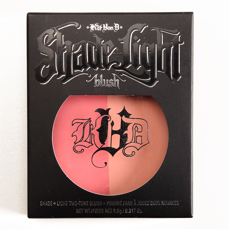 Kat Von D Sid + Nancy Shade + Light Blush Duo