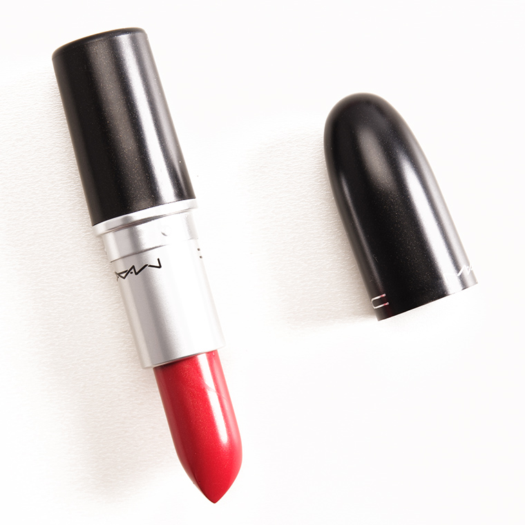 Super MAC Nice to Meet You Lipstick Review & Swatches TJ34