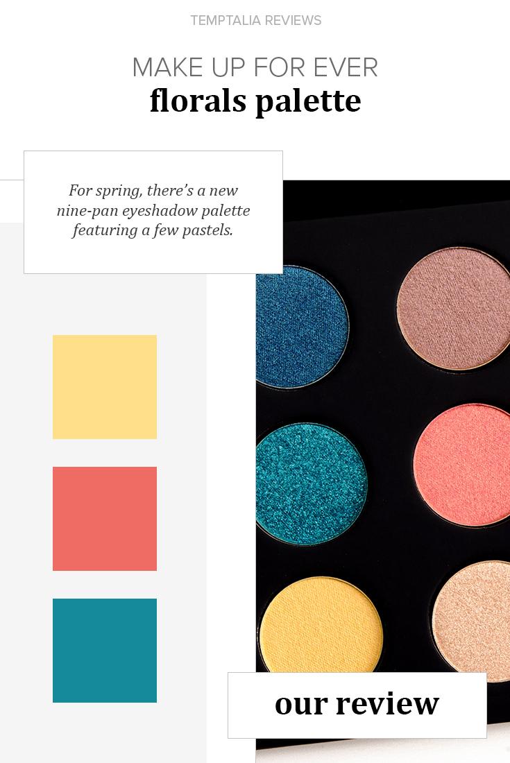 Make Up For Ever Florals (Vol. 3) Artist Palette