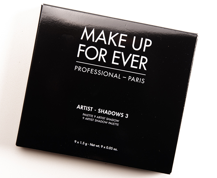 Make Up For Ever Florals (Vol. 3) Artist Palette