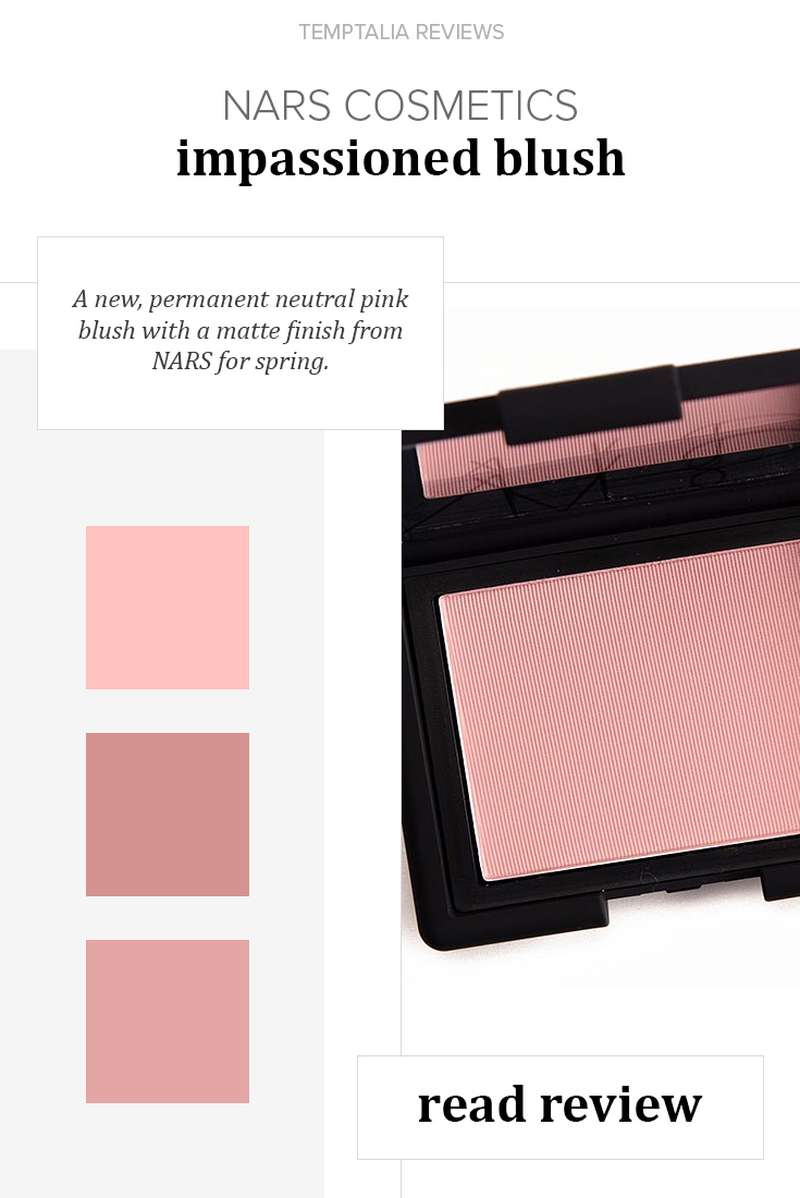 NARS Impassioned Blush Review, Photos, Swatches