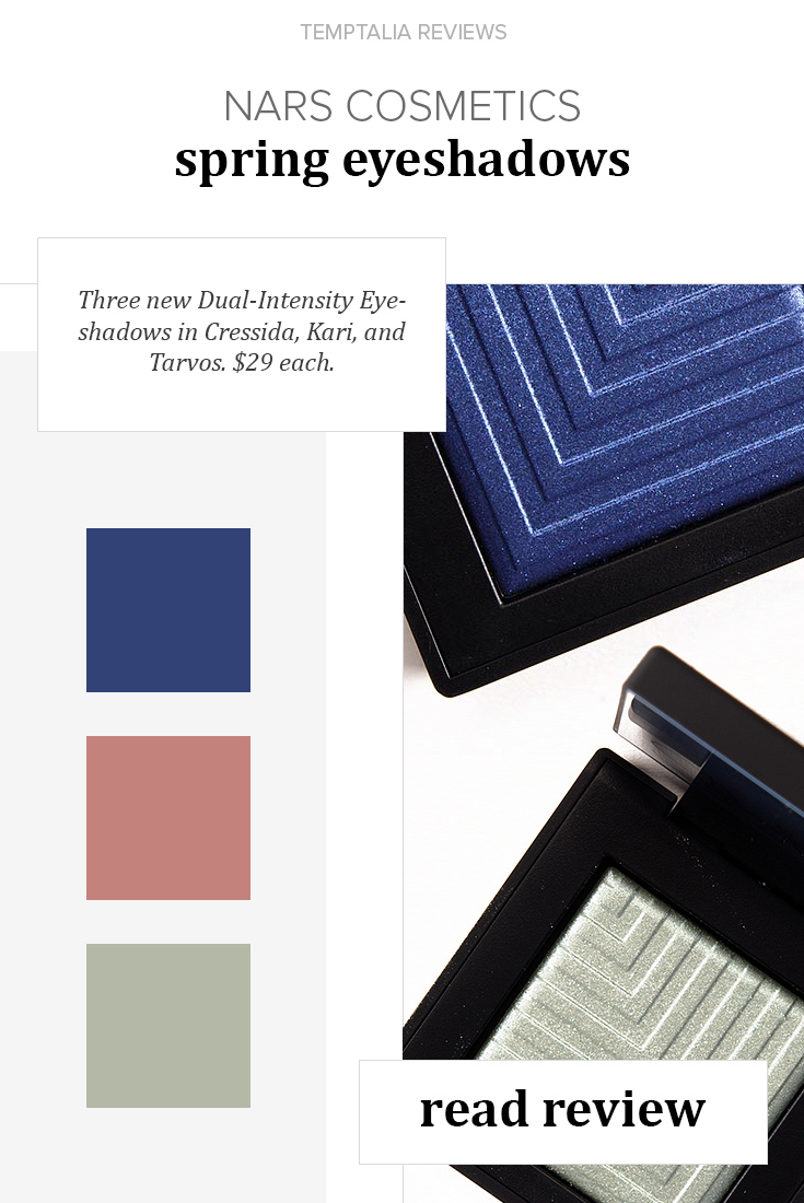 NARS Spring 2016 Dual Intensity Eyeshadow