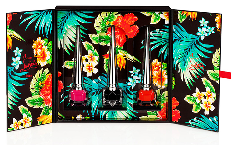 Christian Louboutin Beaute Hawaii Kawaii Collection for Spring 2016
