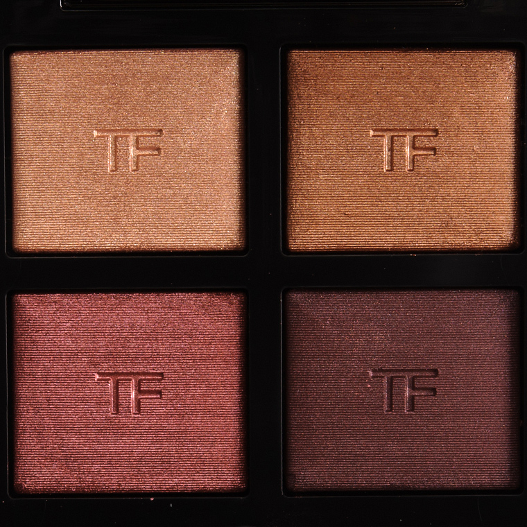 Tom Ford Honeymoon Eyeshadow Quad Review Photos Swatches