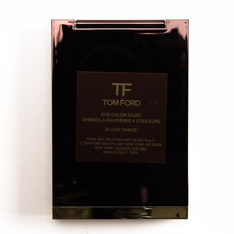 Tom Ford Last Dance Eyeshadow Quad