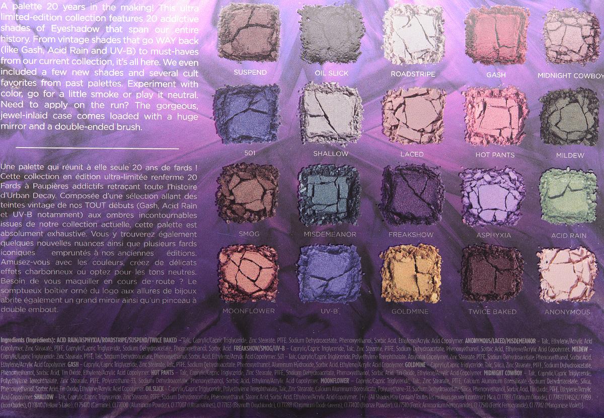 Urban Decay XX Vice LTD Reloaded Eyeshadow Palette