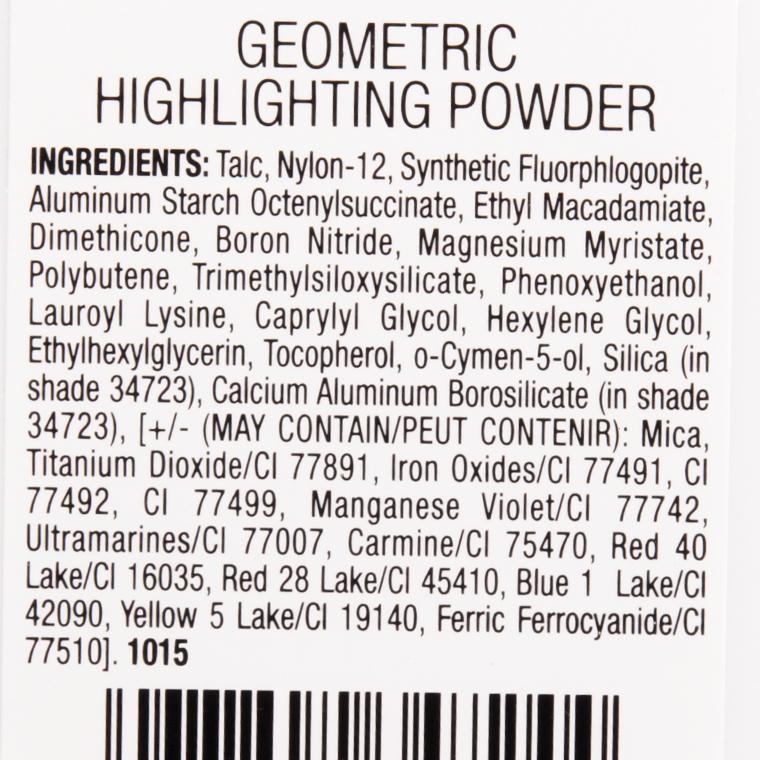 Wet 'n' Wild Sun Ceremony Geometric Highlighting Powder