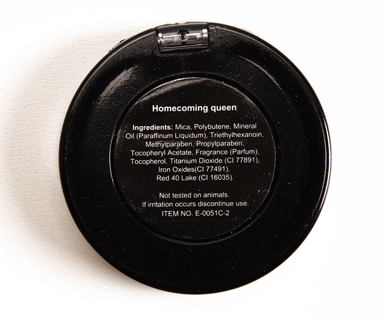 City Color Homecoming Queen Shimmer Shadow