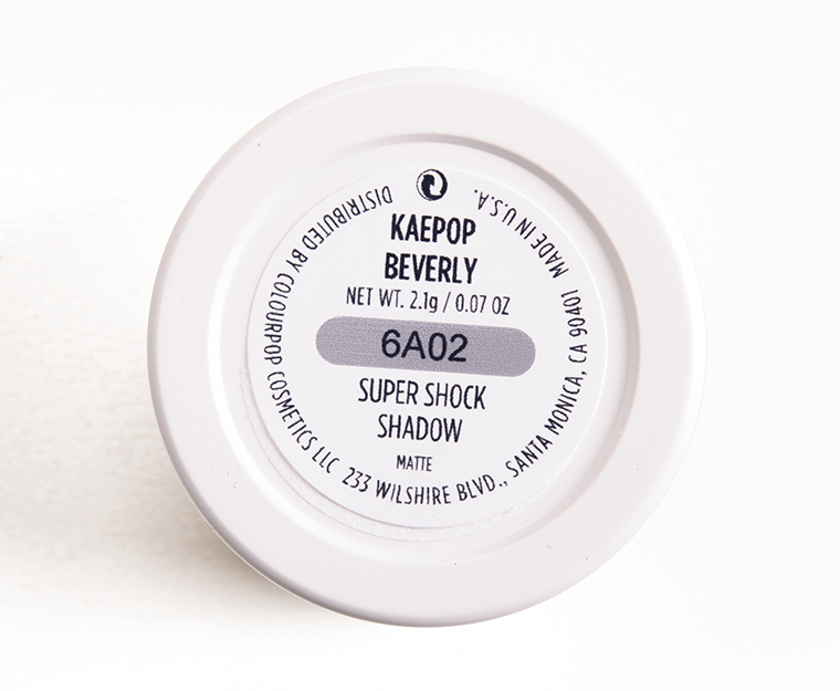 ColourPop Beverly Super Shock Shadow