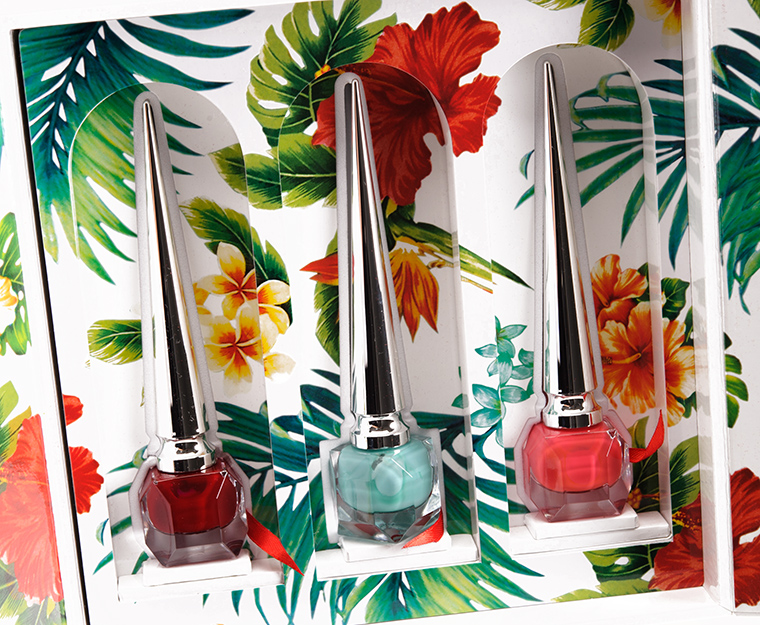 Christian Louboutin Beaute Hawaii Kawai I Nail Coffret