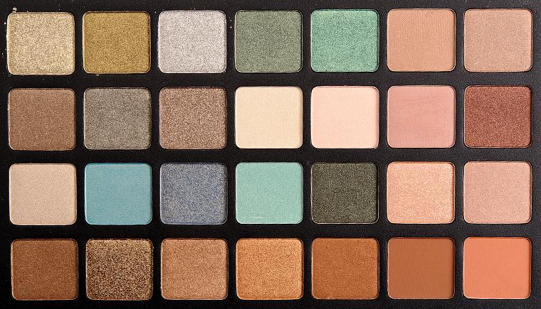 Natasha Denona Green-Brown Eyeshadow Palette