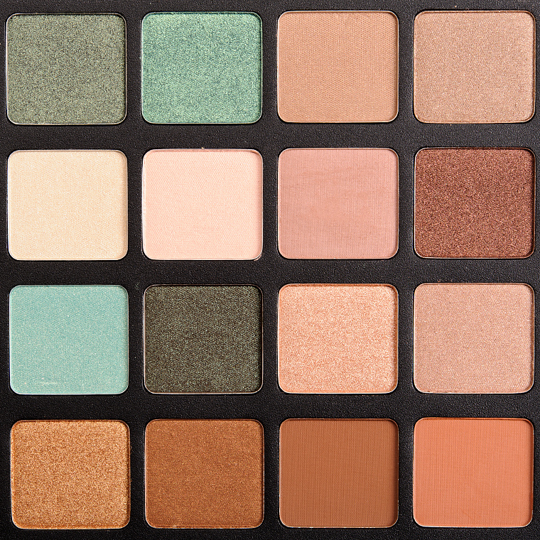 Natasha Denona Green-Brown Eyeshadow Palette
