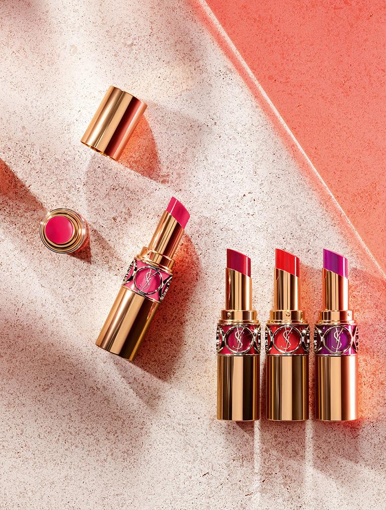 e797a407b456 YSL Rouge Volupte Shine Oil-in-Stick Lipstick for Spring 2016