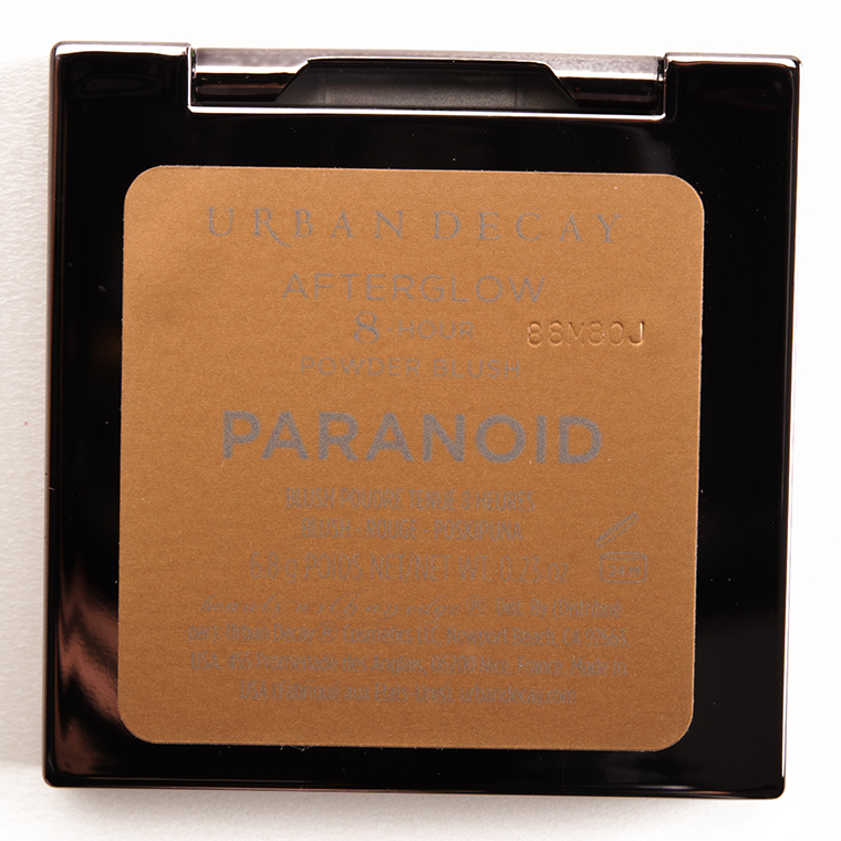 Urban Decay Paranoid Afterglow 8-Hour Blush