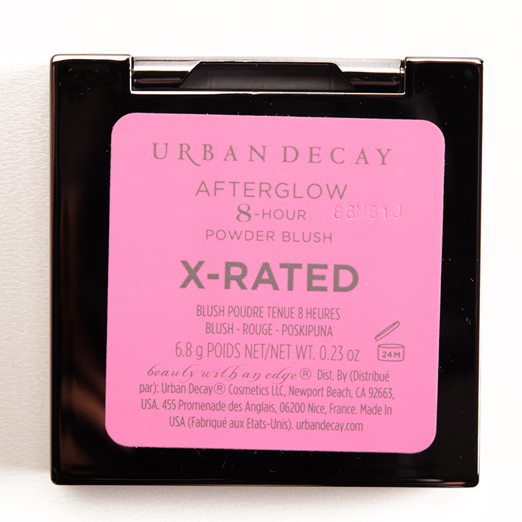 Urban Decay X-Rated Afterglow 8-Hour Blush