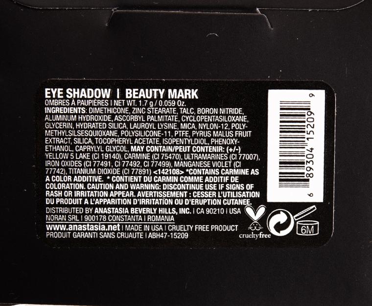 Anastasia Beauty Mark Eyeshadow