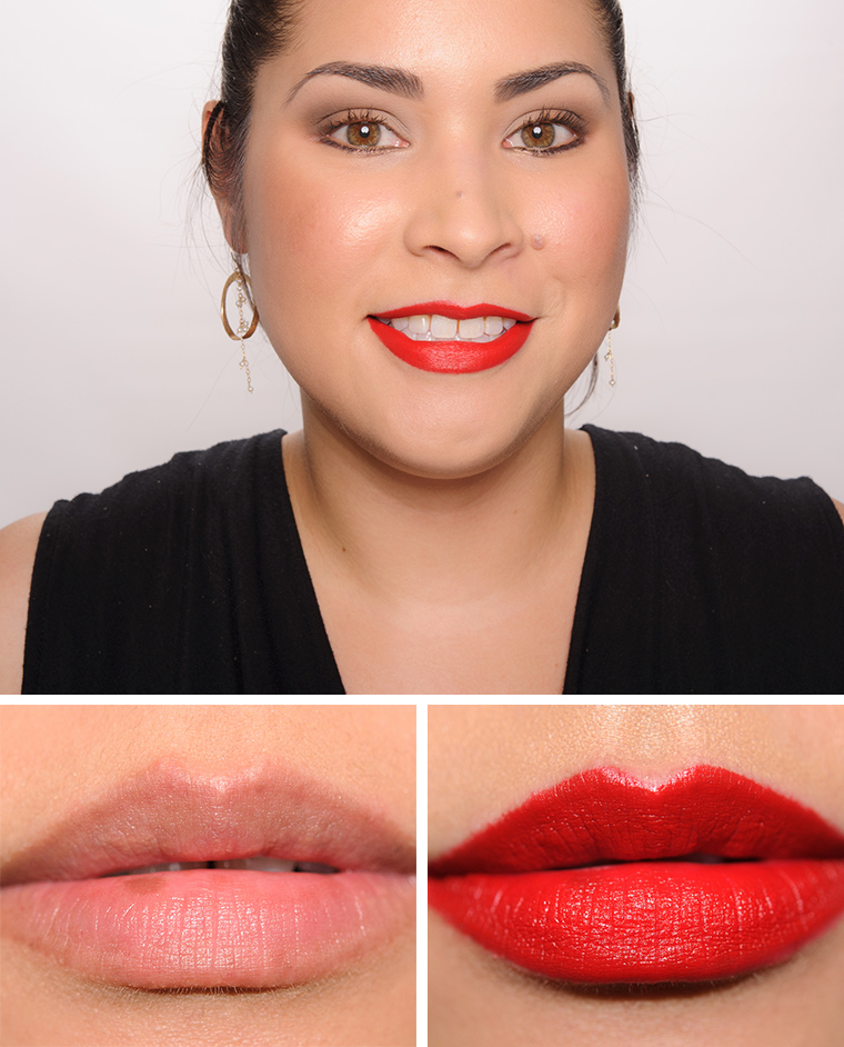MAC Starlett Scarlet Lipstick