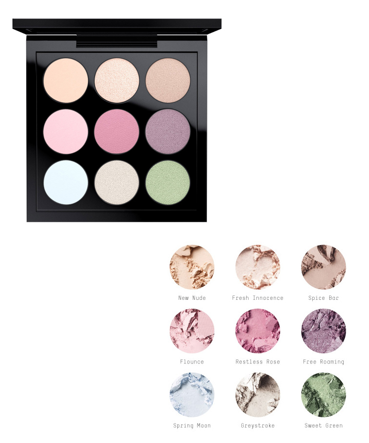 MAC Pre-Made Palettes for Spring 2016