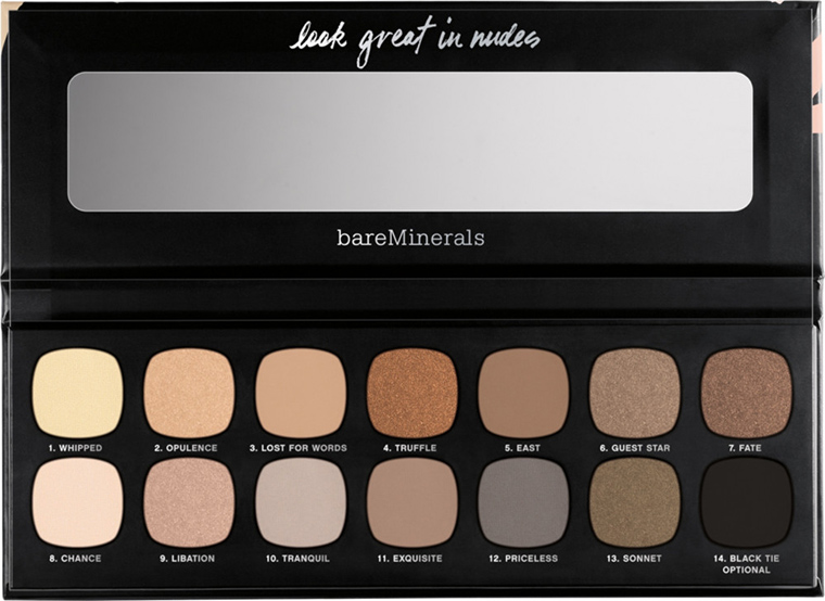 bareMinerals The Nature of Nudes Palette for Summer 2016