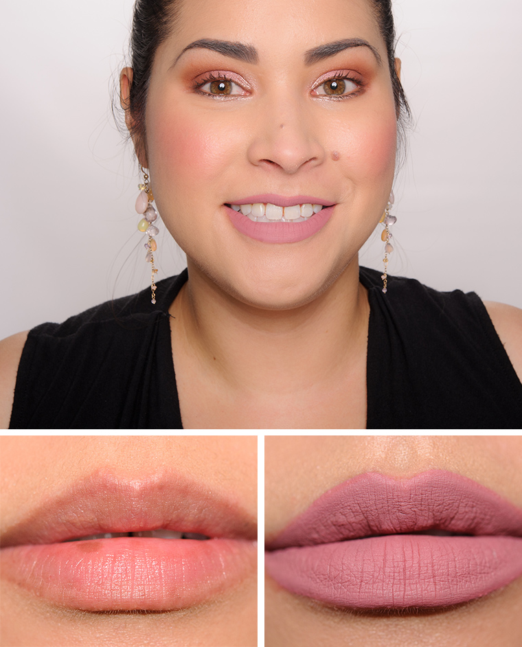 Too Faced Miso Pretty & Queen B Melted Matte Liquid ... Giorgio Armani Makeup