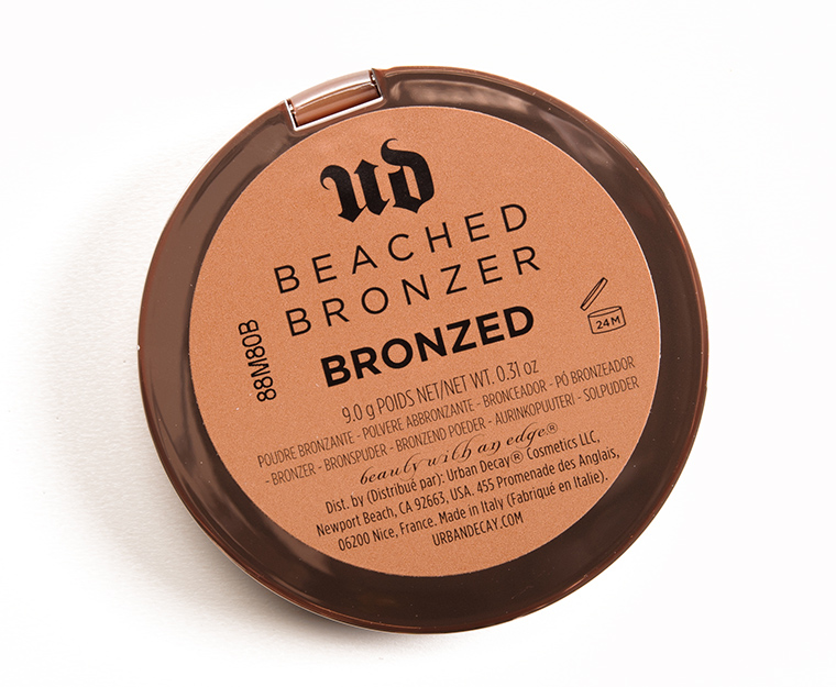 Urban Decay Bronzed Beached Bronzer