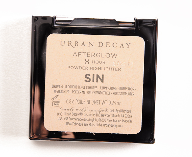 Urban Decay Sin Afterglow 8-Hour Powder Highlighter