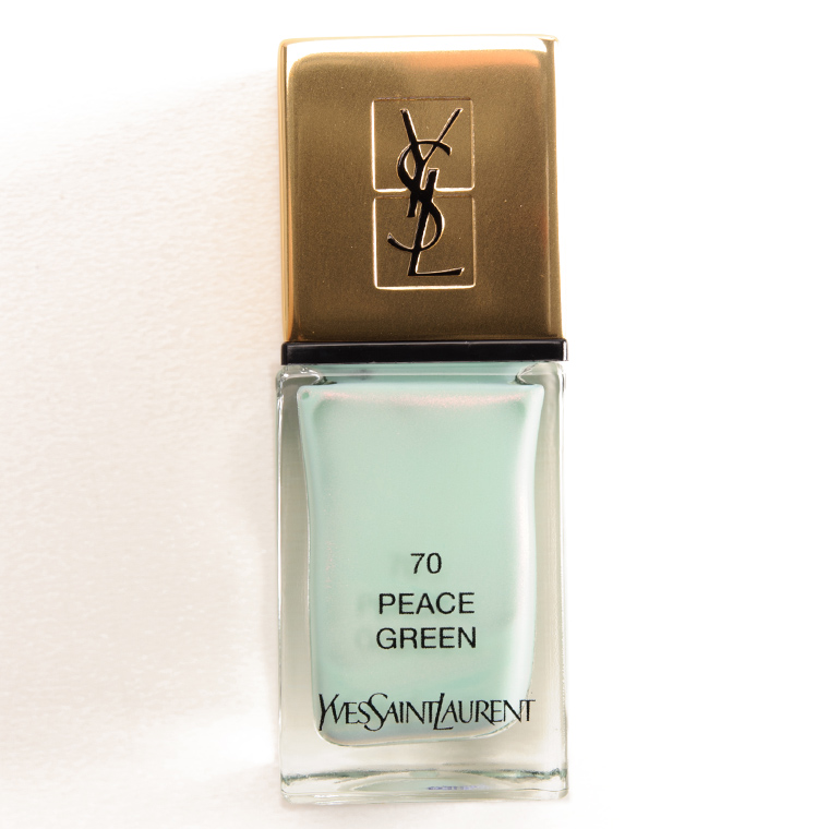 YSL Peace Green La Laque Couture