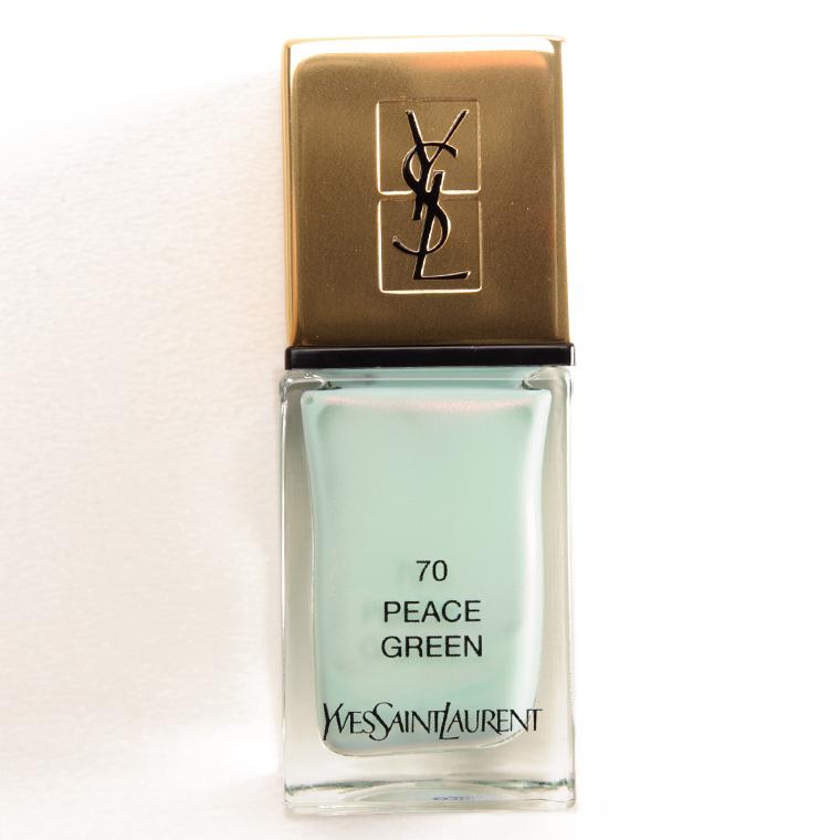 YSL Peace Green La Laque Couture