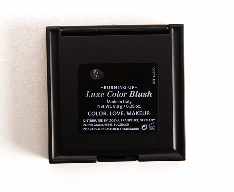 Zoeva Burning Up Luxe Color Blush