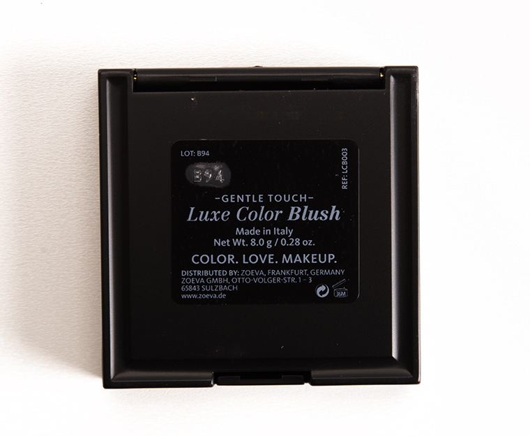 Zoeva Gentle Touch Luxe Color Blush