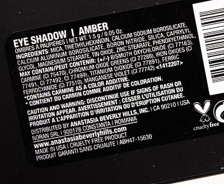 Anastasia Amber Eyeshadow