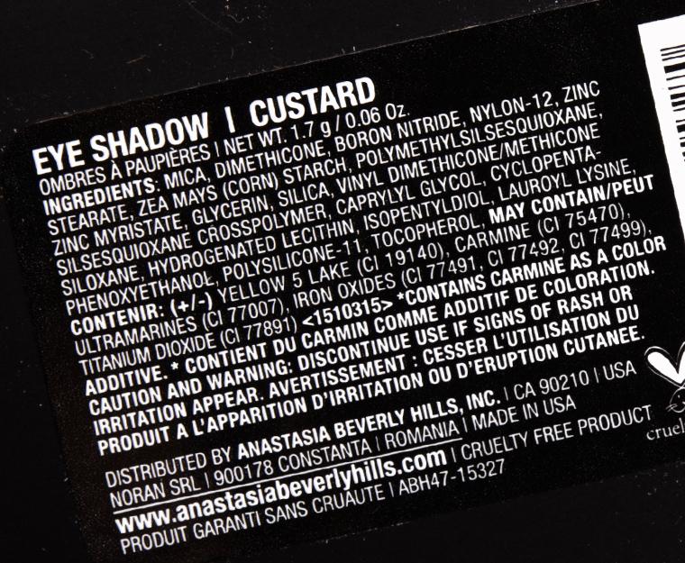 Anastasia Custard Eyeshadow