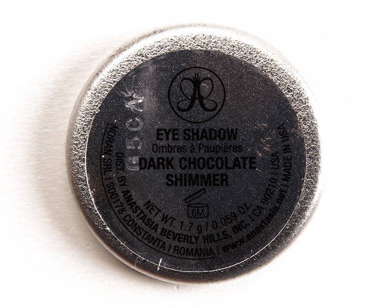 Anastasia Dark Chocolate Shimmer Eyeshadow