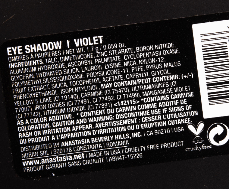 Anastasia Violet Eyeshadow