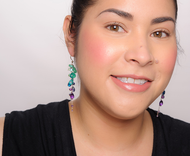 Becca Camellia Shimmering Skin Perfector Luminous Blush Review, Photos