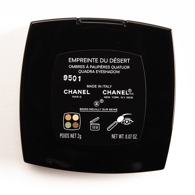 Chanel Empreinte du Desert Eyeshadow Quad
