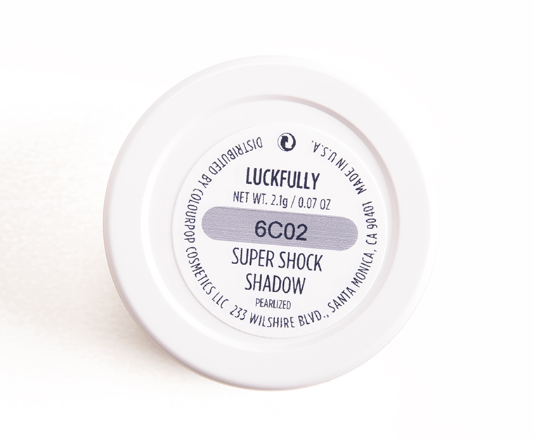 ColourPop Luckfully Super Shock Shadow