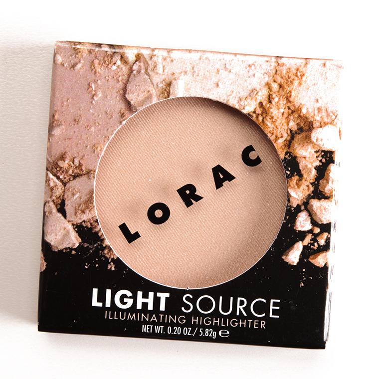 Lorac Moonlight Illuminating Highlighter Review Photos