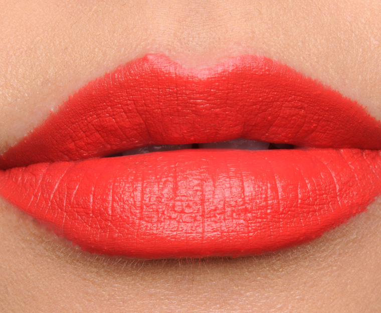 MAC Vermillion Vee Lipstick