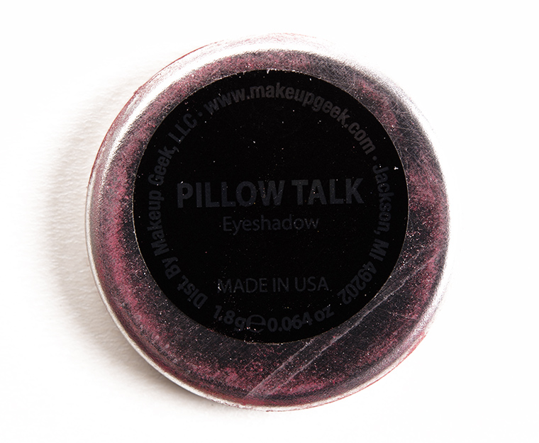 Makeup Geek Pillow Talk Eyeshadow